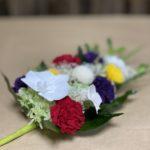 定番色の大きめプリザーブド仏花