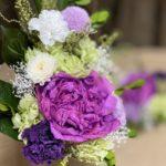 大きな芍薬のプリザーブド仏花