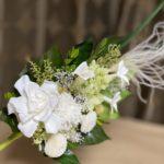 クチナシのプリザーブド仏花