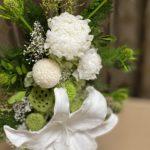 カサブランカの最高級プリザーブド仏花