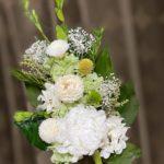 もう1つの白いプリザーブド仏花
