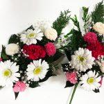 ガーベラの鮮やかプリザーブド仏花アレンジメント