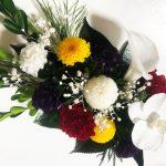 元旦におすすめ、豪華な胡蝶蘭のプリザーブド仏花