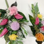 チューリップの仏花