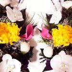 胡蝶蘭のプリザーブド御供花を一対でどうぞ!
